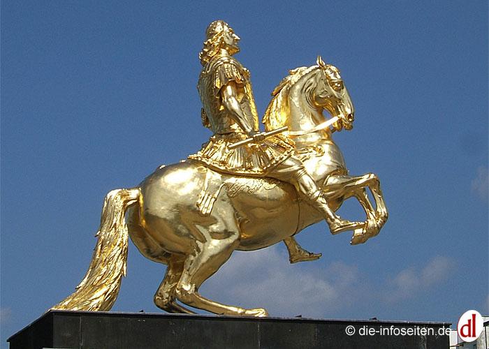 Goldener Reiter Foto: ©die-infoseiten.de
