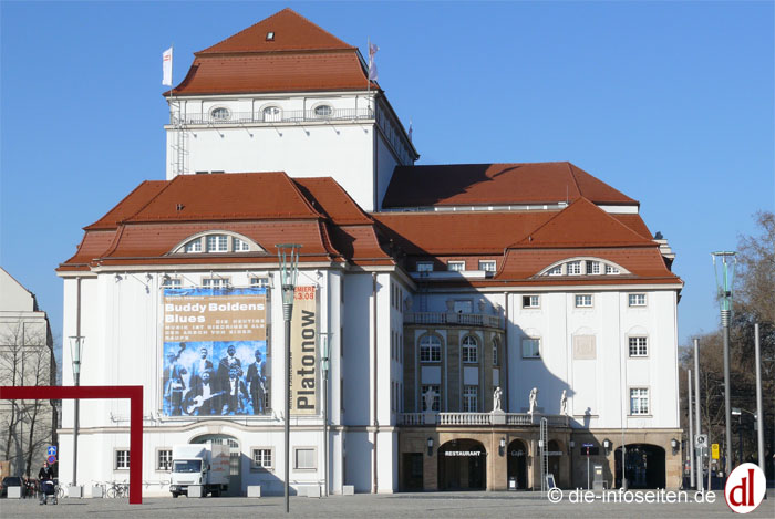 Schauspielhaus Dresden Foto: ©die-infoseiten.de